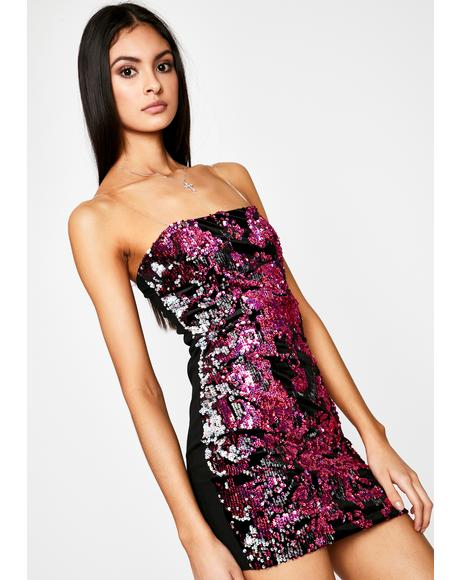 Time To Party Sequin Dress