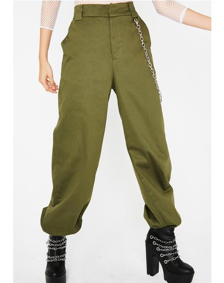 Kim Probable Chain Pants
