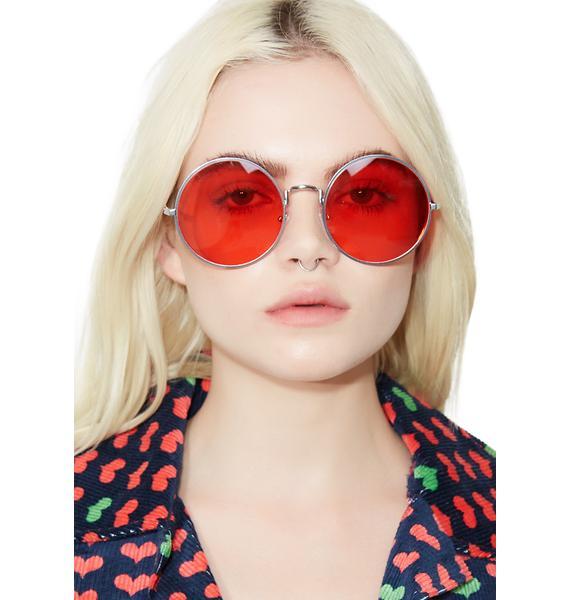 YHF Wavy Sunglasses