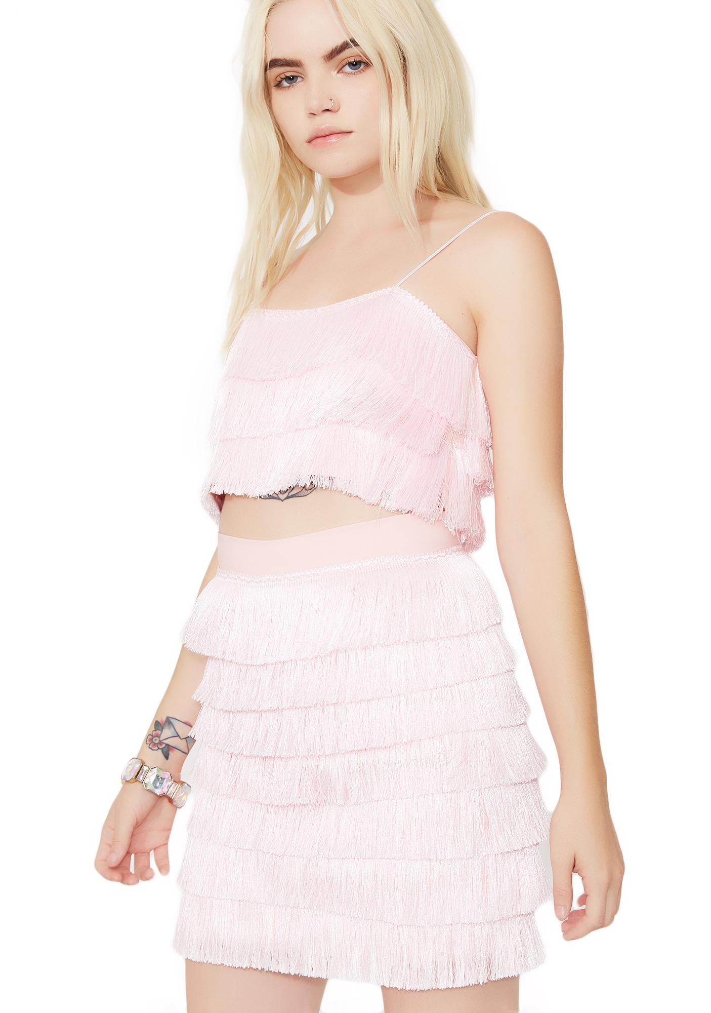 O Mighty Barbie Fringe Top