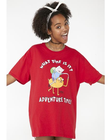 Adventurous Spirit Graphic Tee