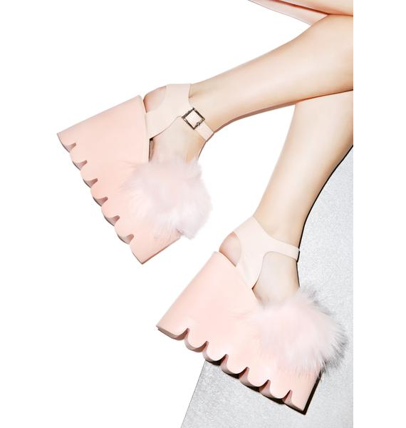 Current Mood Candy Cloud Sandals