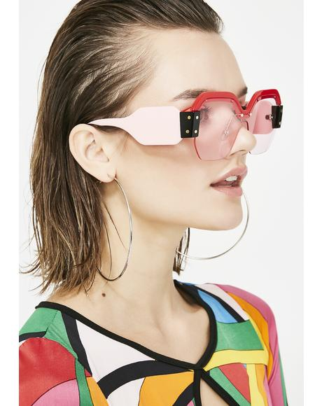 Miss Fashion Killa Oversized Sunglasses