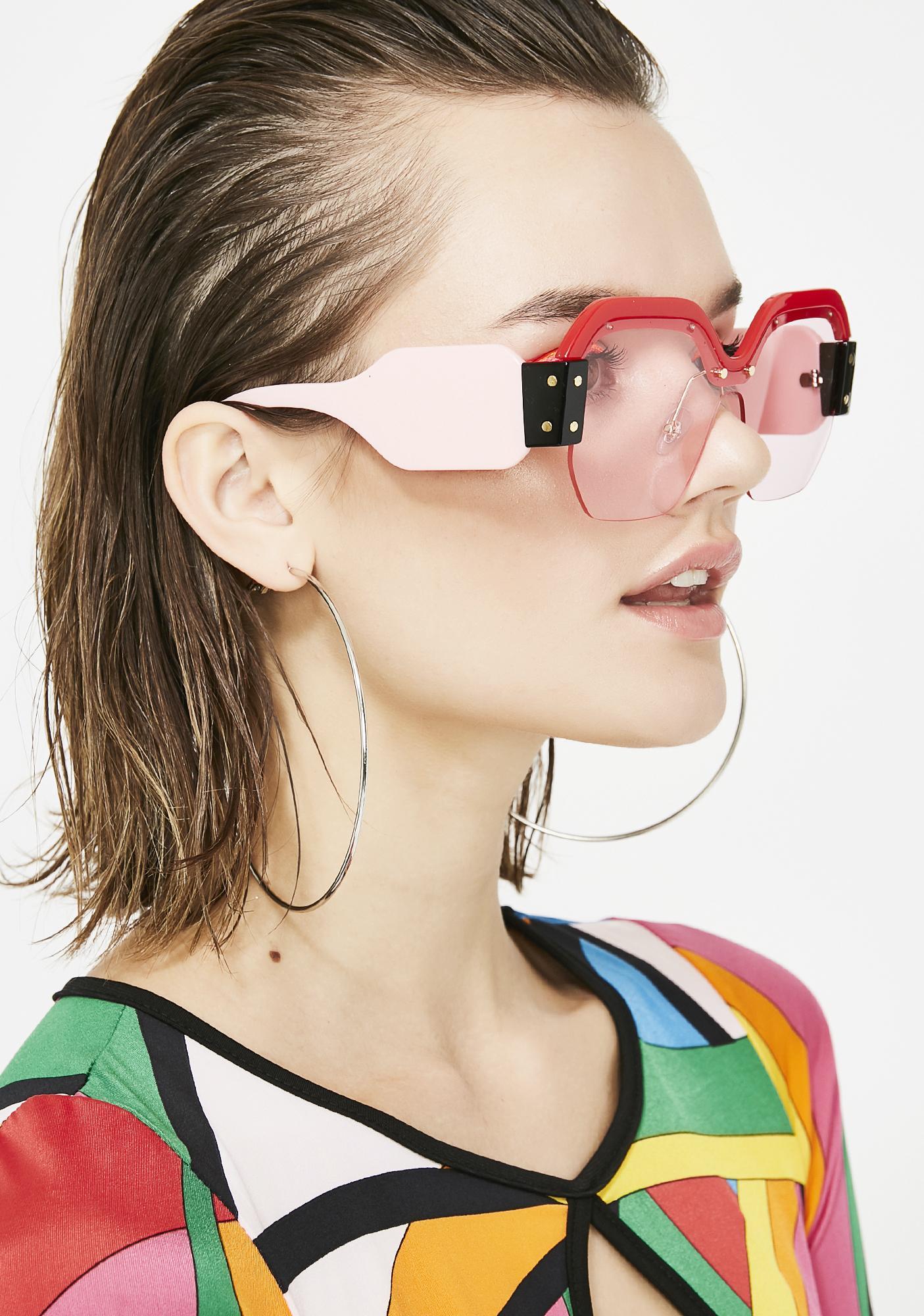 Miss Fashion Killa Oversized Sunglasses
