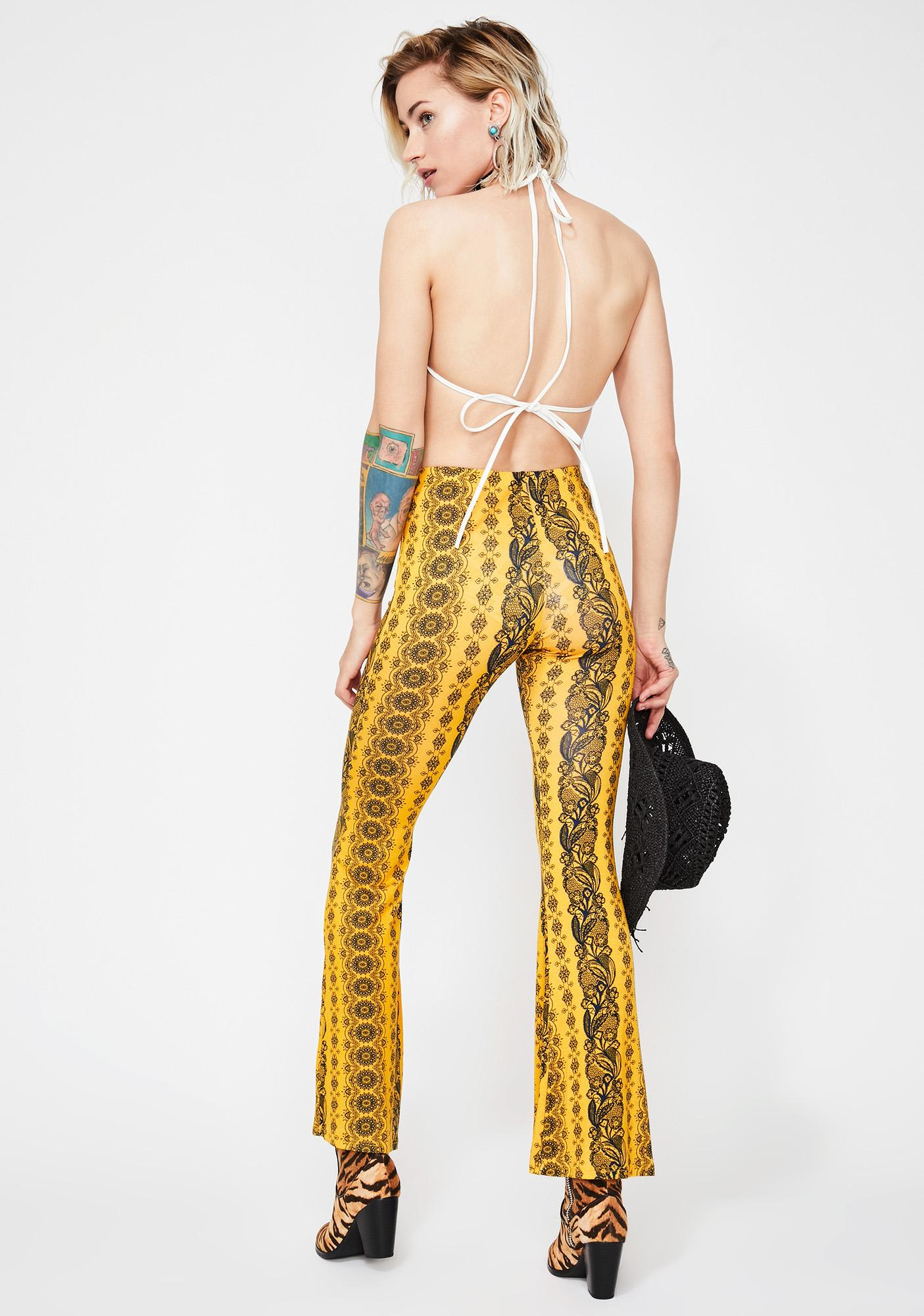 Honey Midnight Haze Printed Pants