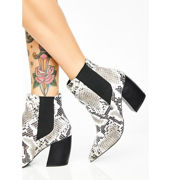 Slither My Way Snake Booties