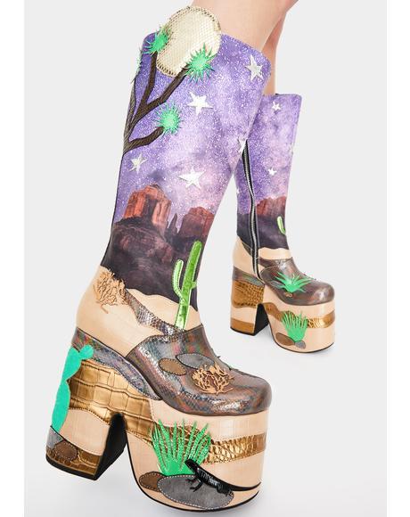 Stellar Astro Valley Platform Boots