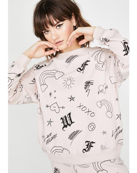 Love Wildfox Sommers Sweatshirt