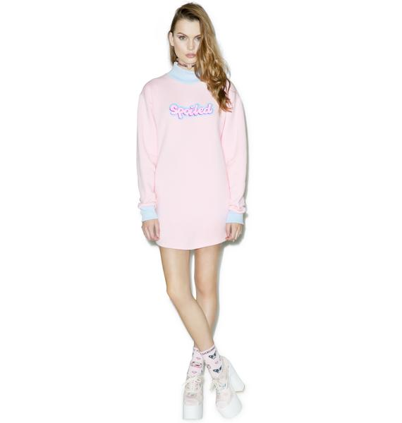 Sugarpills Spoiled Sweatshirt Dress