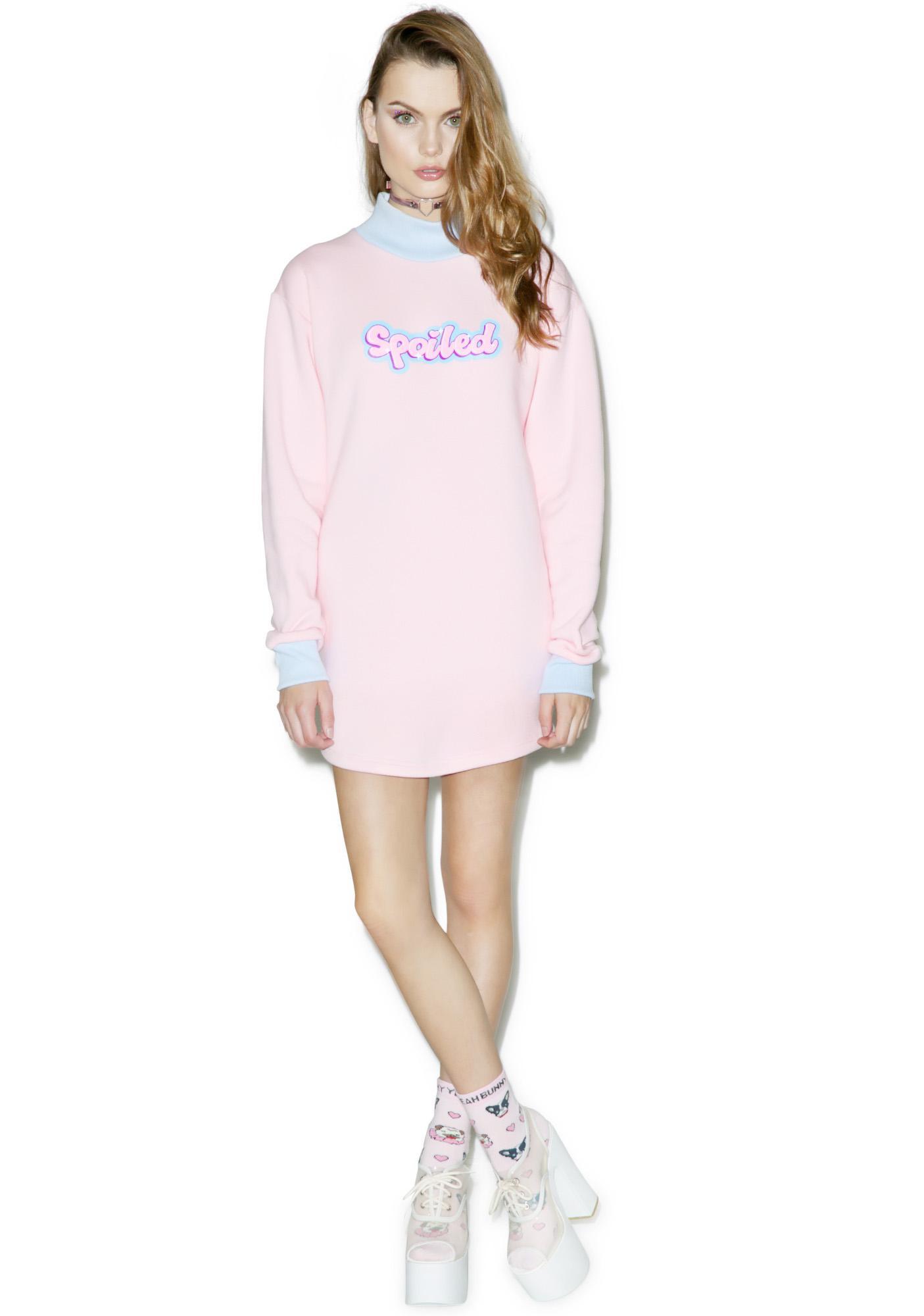 Sugarpills Spoiled Sweatshirt Dress