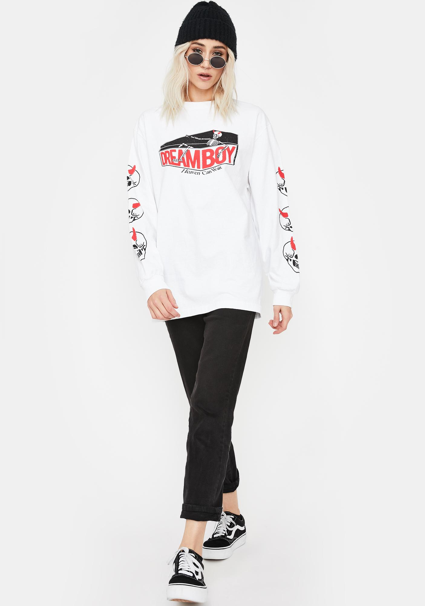 Dreamboy Coffin Long Sleeve Graphic Tee