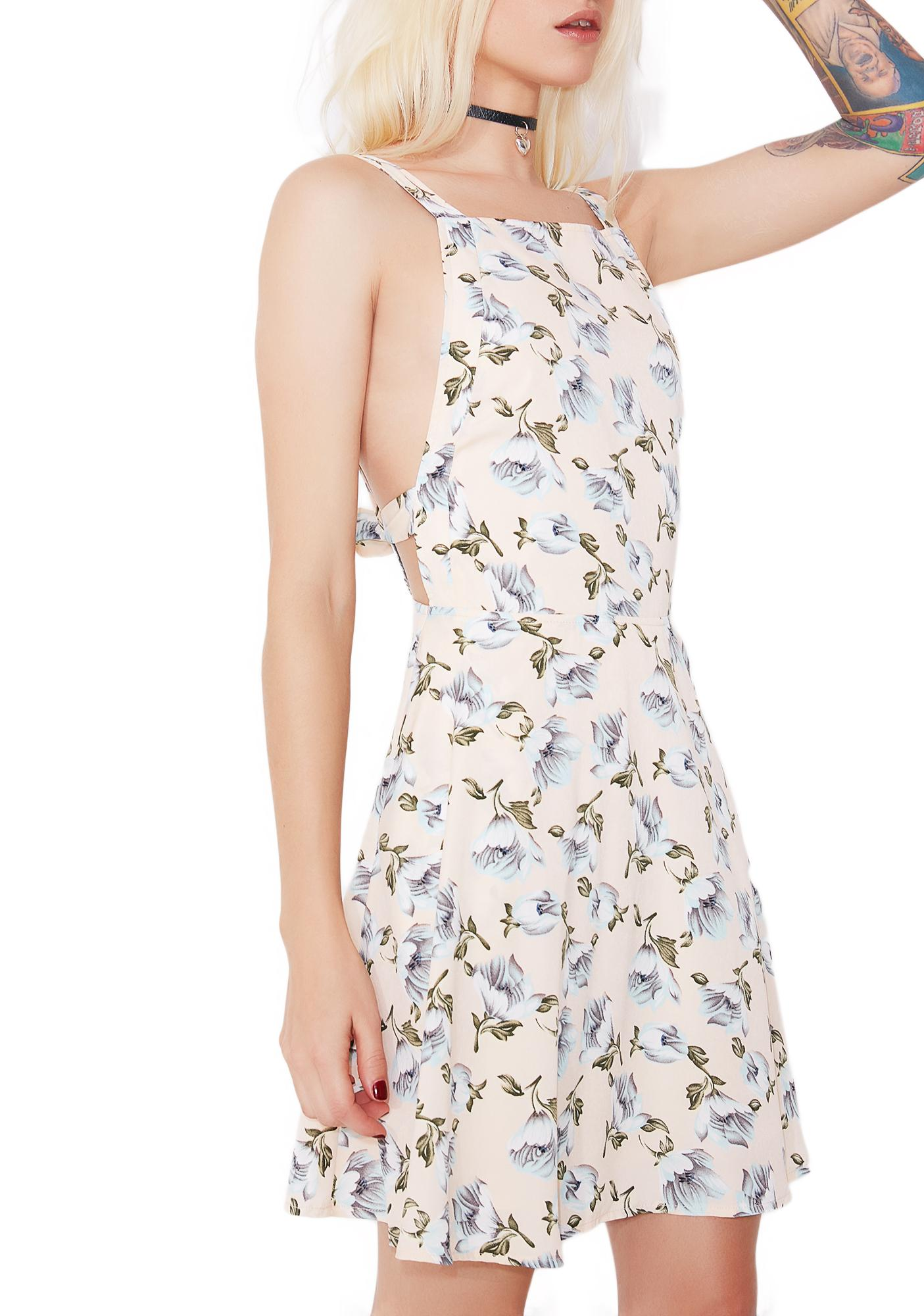 Blush Sweet Lily Floral Dress