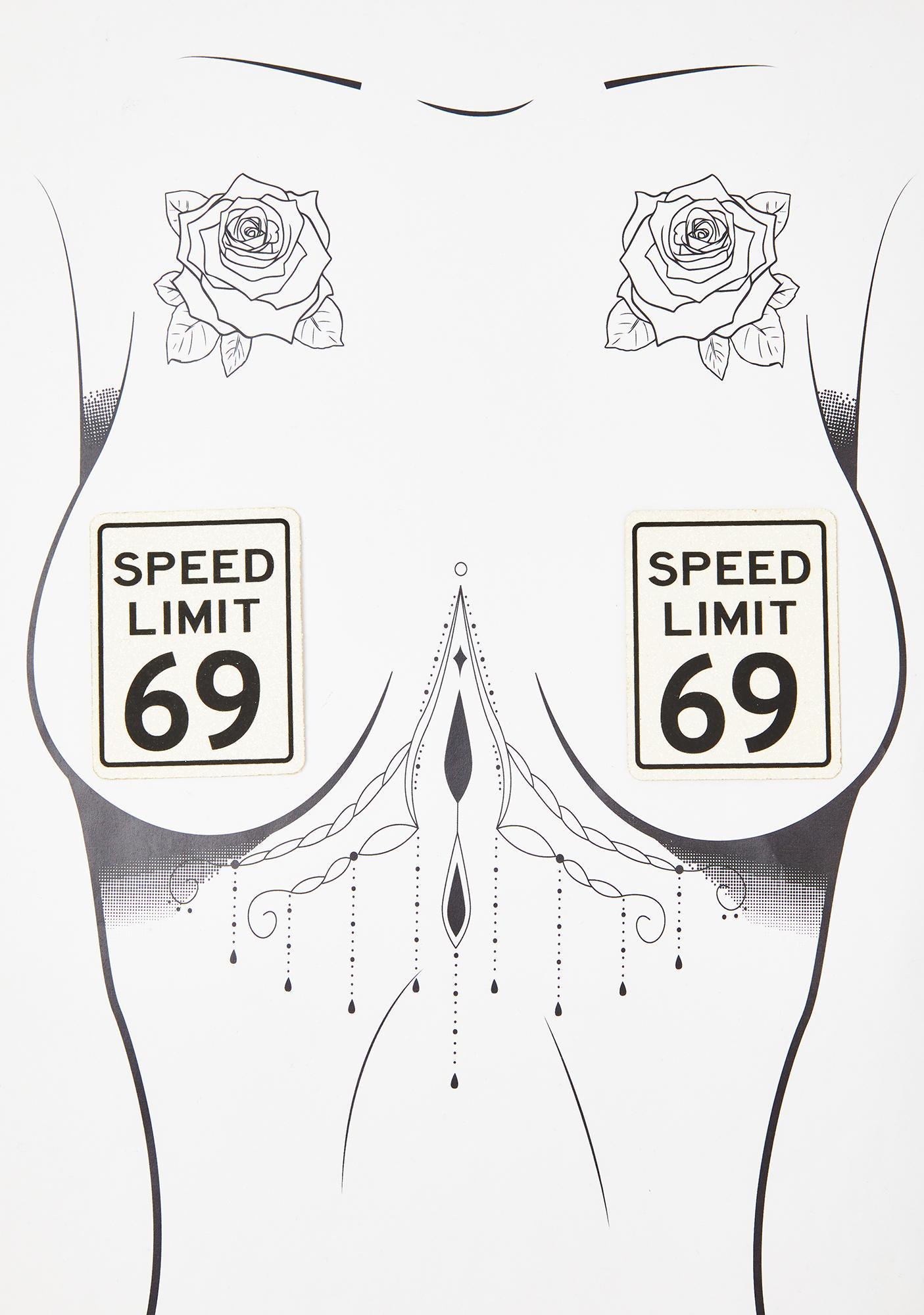 Neva Nude Speed Limit 69 Pasties