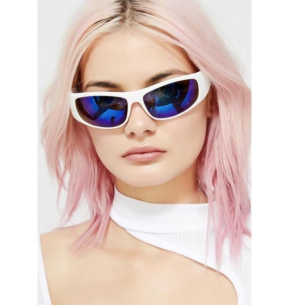 Speed Star Wrap Sunglasses