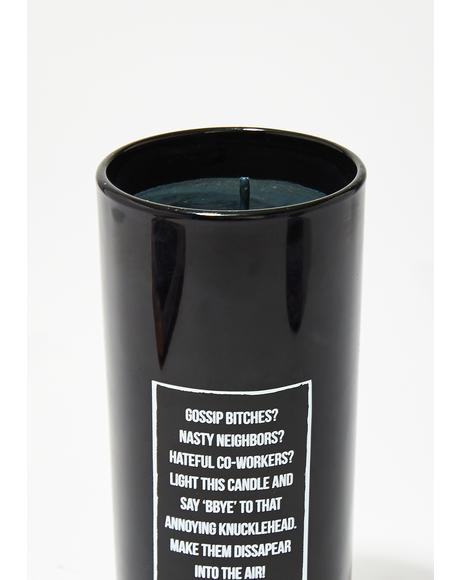Go Away Ritual Candle