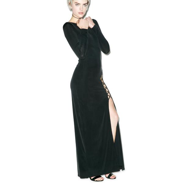 The Jetset Diaries Novella Wrap Maxi Dress