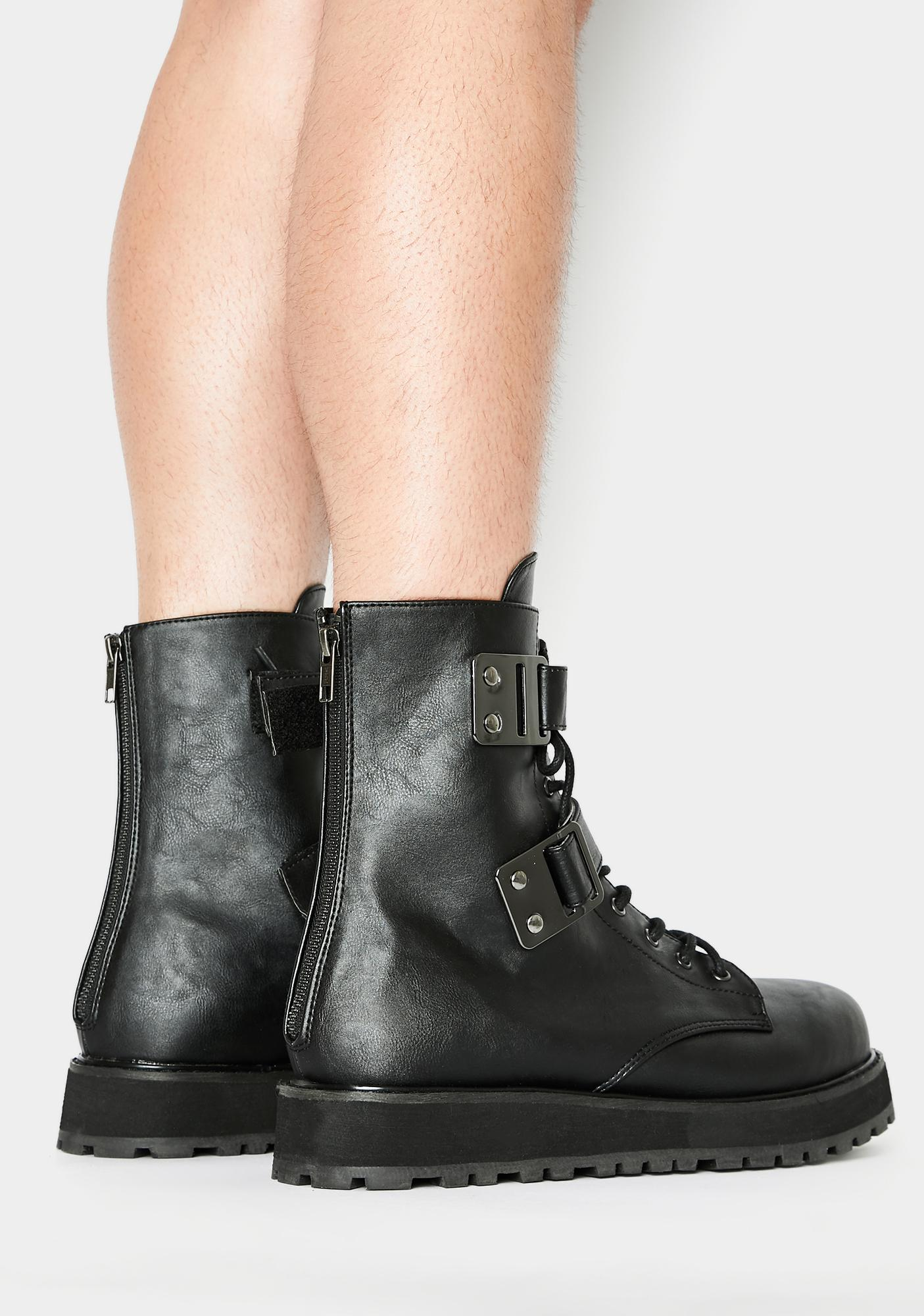 Demonia Valor Ankle Boots