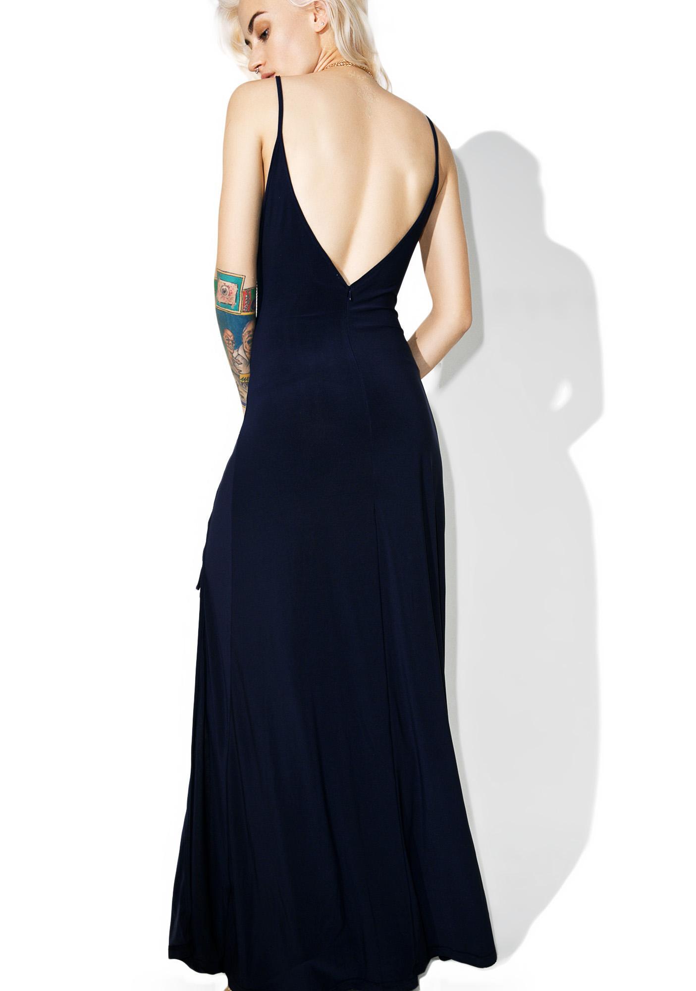 Glamorous Side Maxi Dress