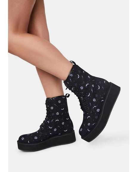 Starlight Affair Platform Boots