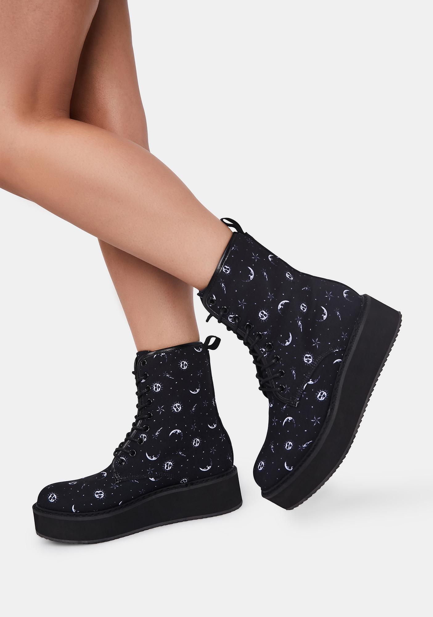 Starlight Affair Platform Boots