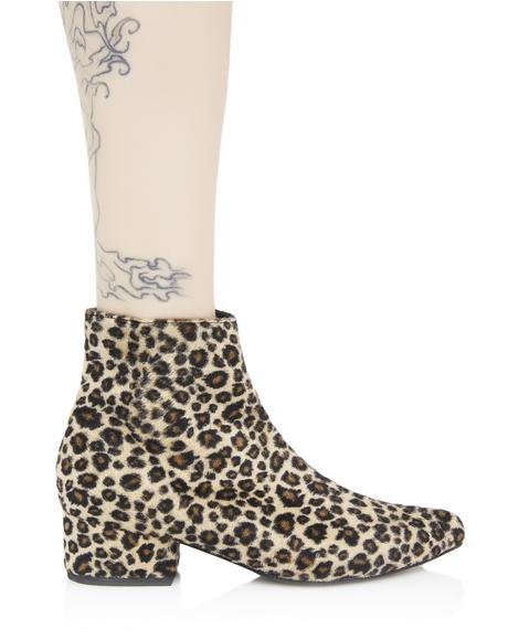 Spot On Ankle Boots