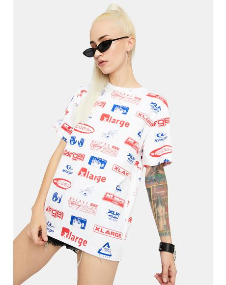 All Over Print Graphic Tee