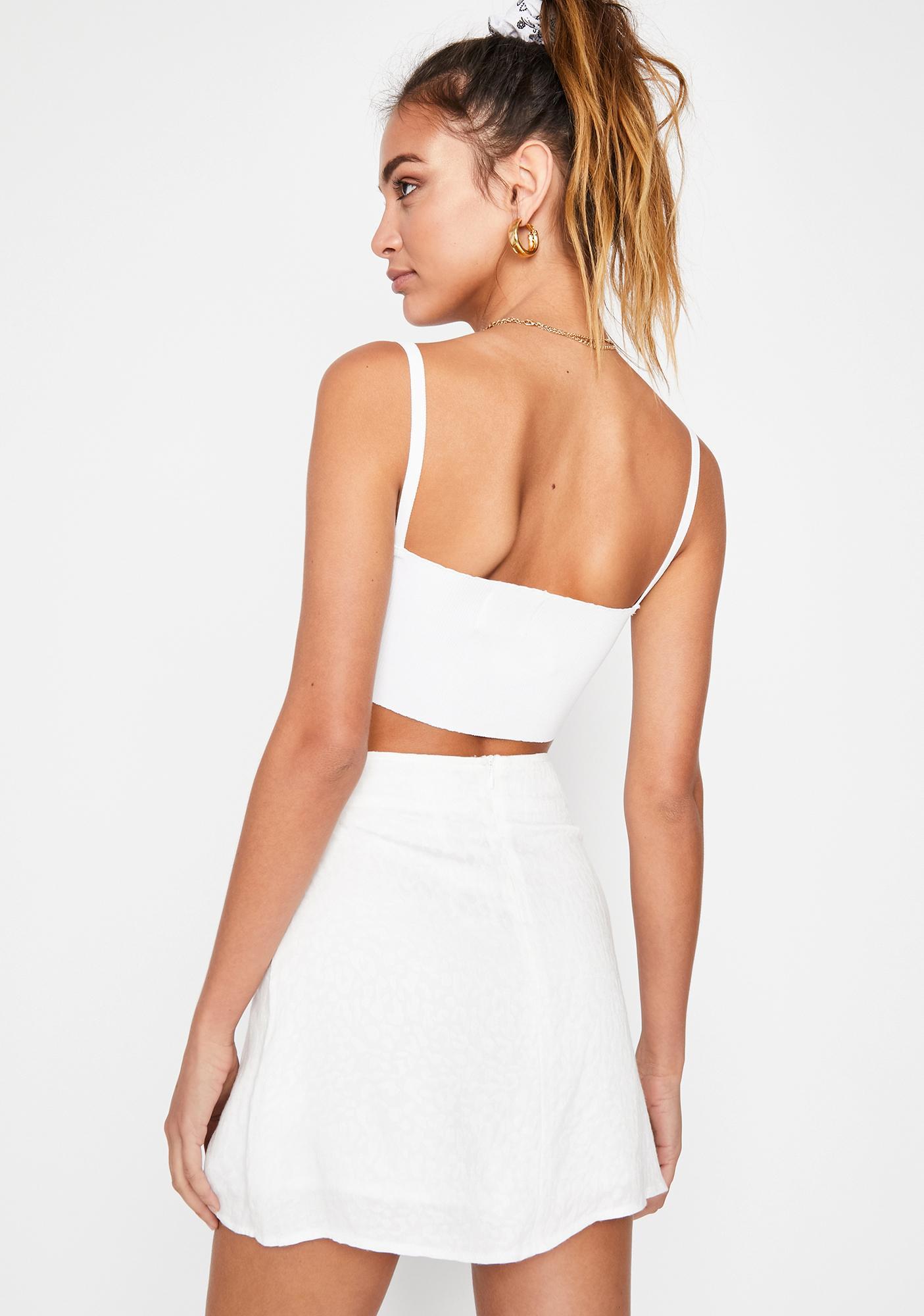 Angel Kitty Trixx Mini Skirt
