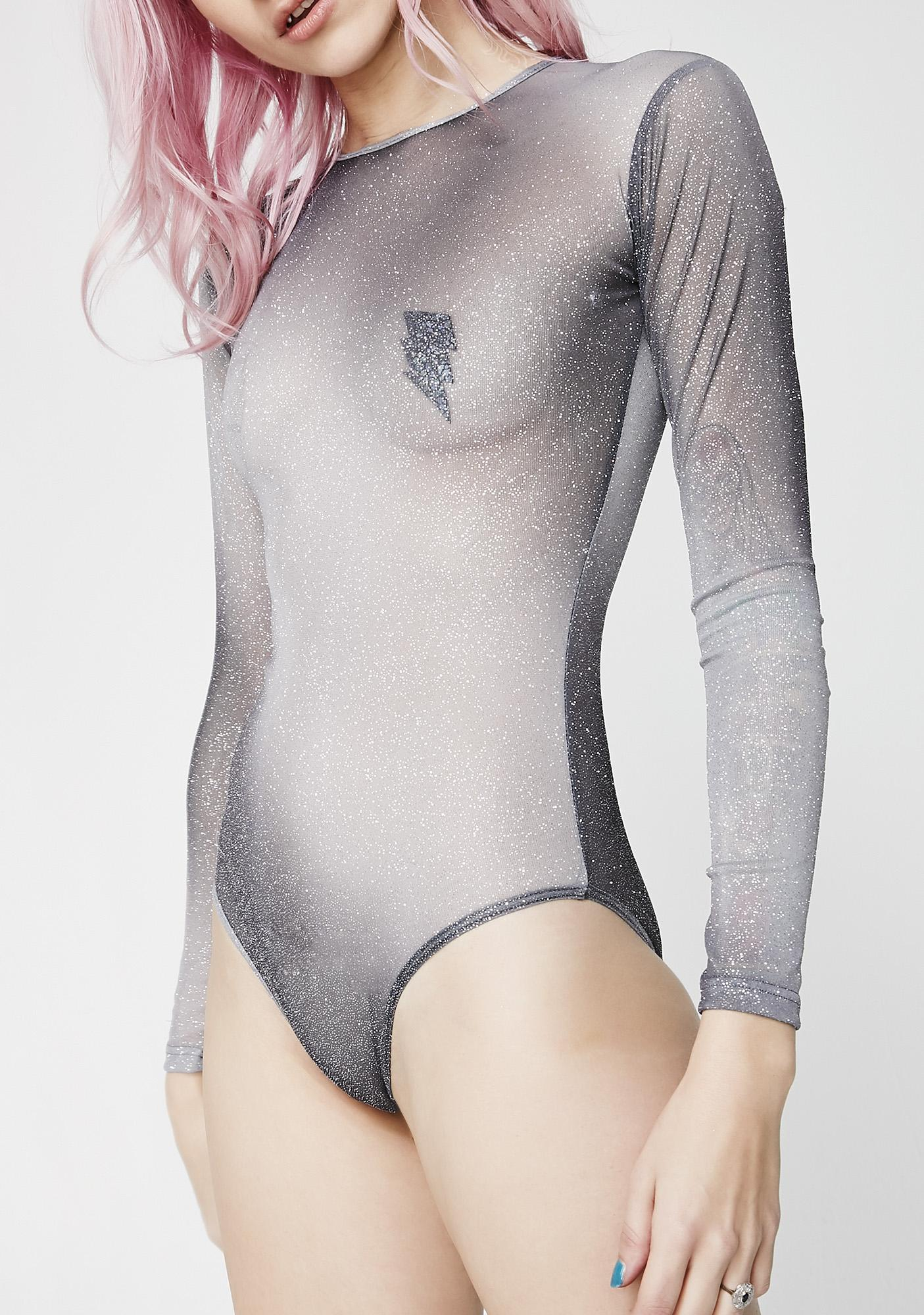 Got Em' Shook Ombre Bodysuit