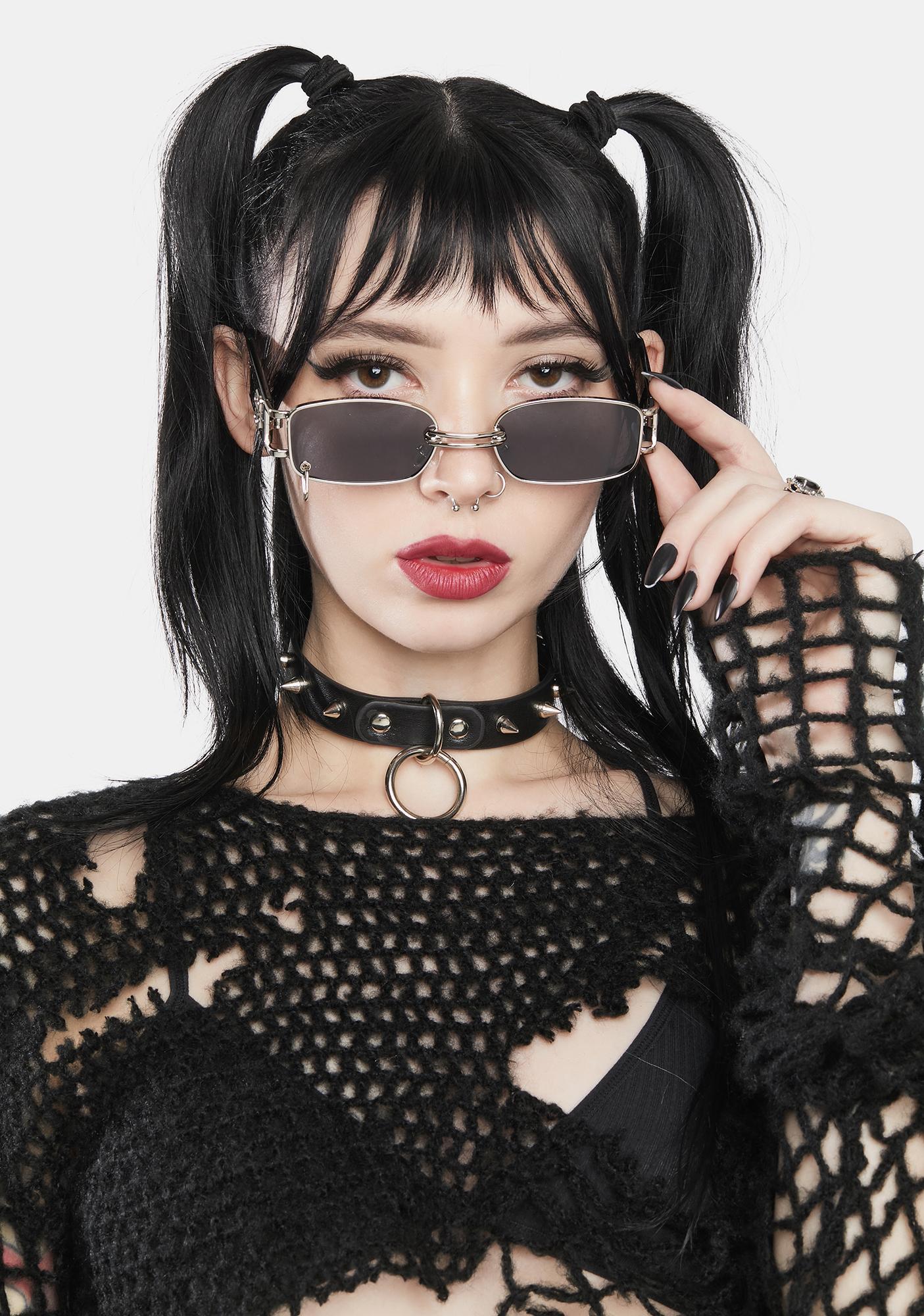 No Rulebook Rectangle Sunglasses