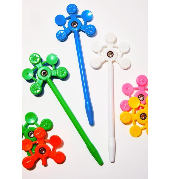 Rainbow Fidget Spinner Pens