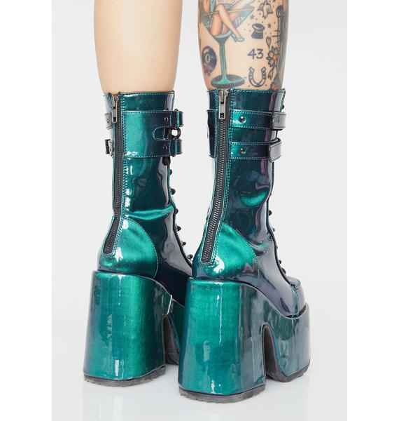 Demonia Energy Enigma Platform Boots