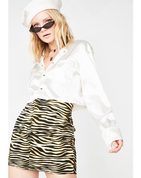 Mocha Exni Skirt
