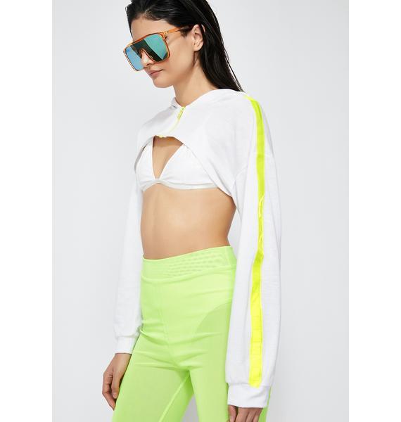 Glowin' Lux Cropped Jacket