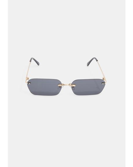 Godless Gaze Frameless Sunglasses