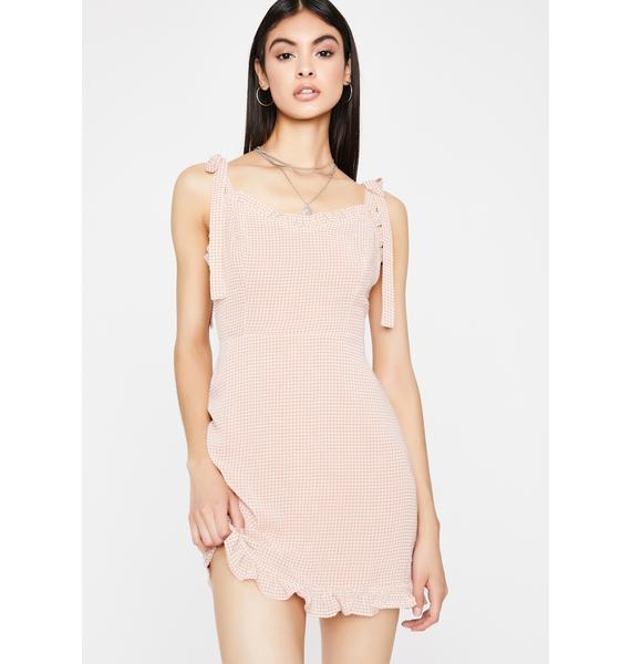 Good Girl Gingham Dress