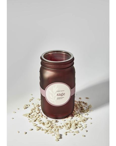 Sage Garden Jar