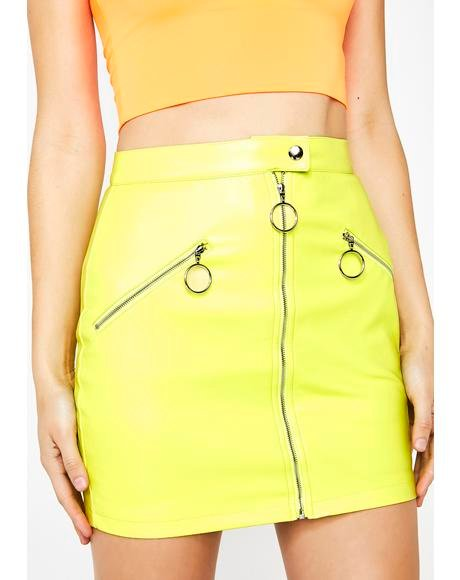 Electric Squad Leader Mini Skirt