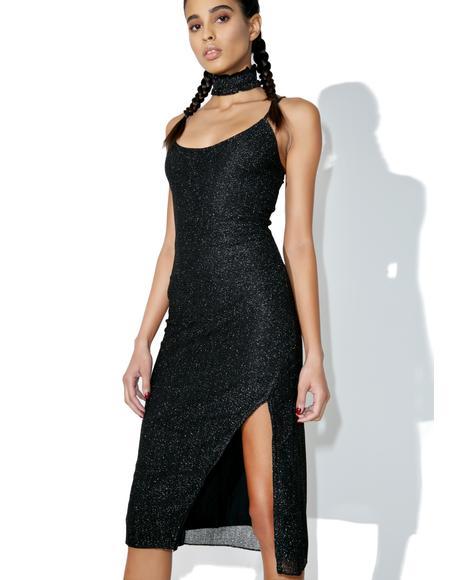 Stop 'N Stare Slip Dress