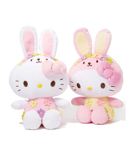 Hello Kitty Bunny Plush Set