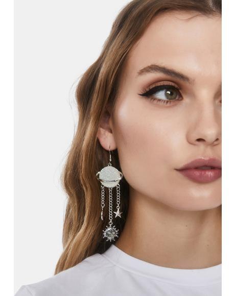 One Way Trip Drop Earrings