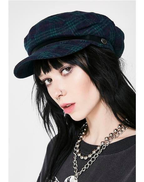 Plaid Toni Hat