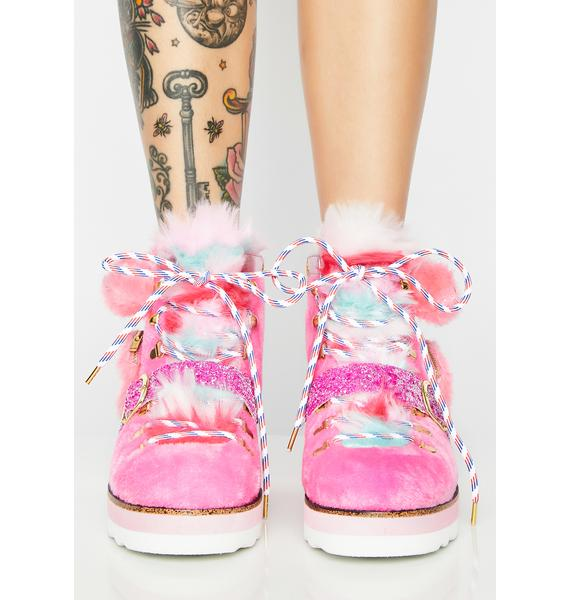 Irregular Choice Miss Big Bear Platform Boots