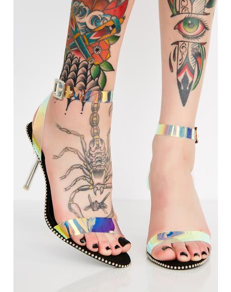 OTW Sis Iridescent Heels