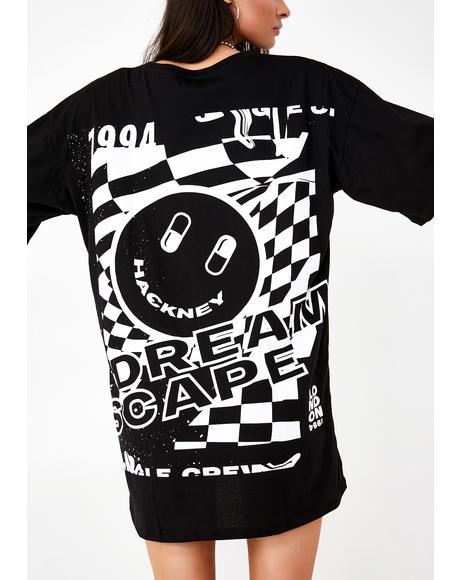 Dreamscape Sunny Kiss Tee Dress