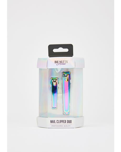 Nail Clipper Duo Set