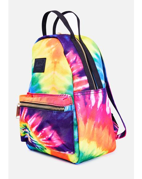 Nova Mini Tie Dye Rainbow Backpack