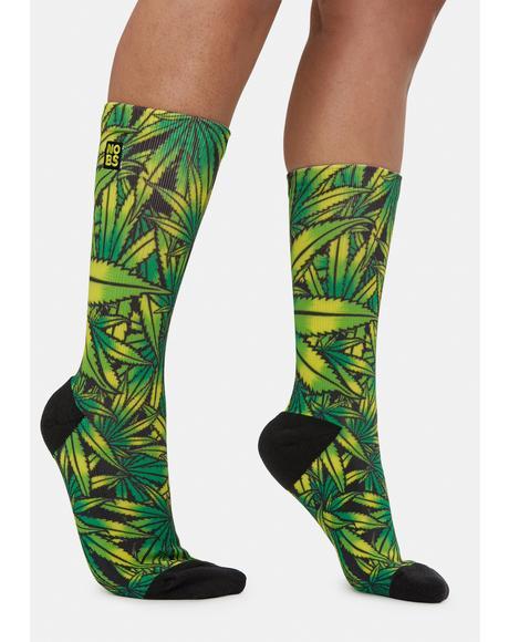 Ganja Farm Crew Socks