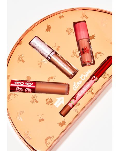 Faded Lip Holiday Set