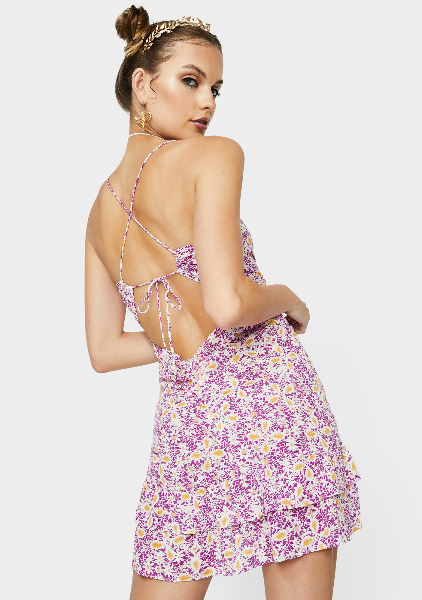 Blooming Glory Floral Sundress