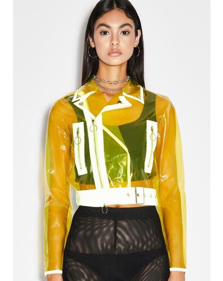 Honey Crystal Complex Moto Jacket